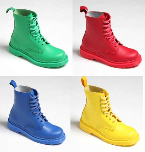 dr martens primary pascal colour boots